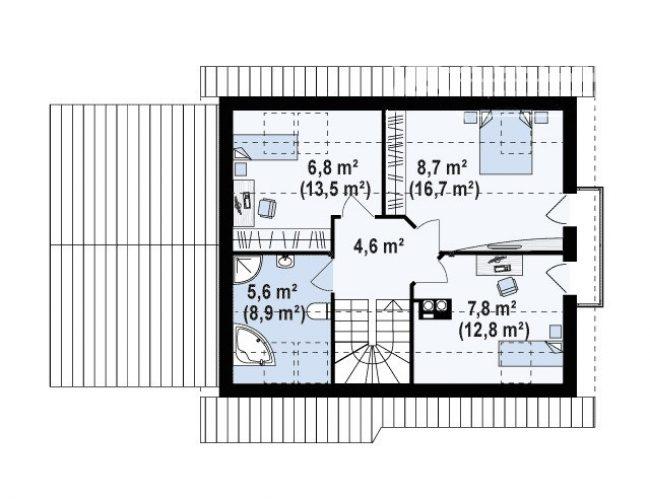 Проект дома-431